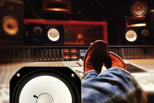 The MS10 replacement speaker in-studio.